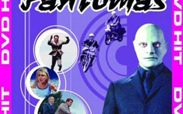 JEN 210 Kč za kolekci 8 DVD klasických francouzských komedií s neodolatelným Luis de Funès v hlavní roli!