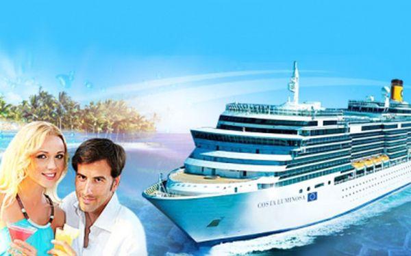 Luxusní okružní PLAVBA novou lodí Costa Luminosa za 22 914 Kč PRO TŘI OSOBY nebo za 19 999 PRO DVA! Uvidíte Barcelonu, Mallorcu, Korsiku i Marseille! Cena včetně PLNÉ PENZE! Šest dní luxusu a jedinečný zážitek!