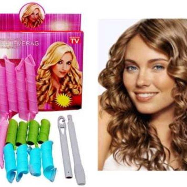Udělejte ze svých vlasů Vaši přednost!! S natáčkami budou Vaše vlasy vždy krásné!! Nyní za 214 Kč!