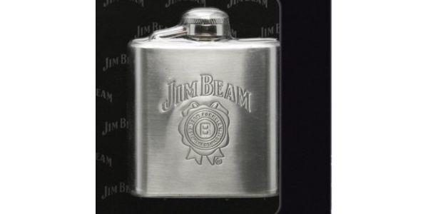 Jen 299 Kč za placatku Jim Beam!! Chyťte svůj styl s placatkou, která potěší každého!!