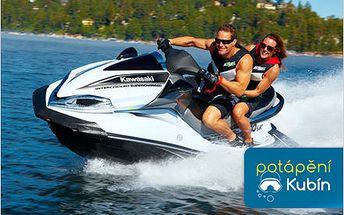 Prožijte adrenalinovou jízdu na vodním skútru na nejdelší dráze v ČR!
