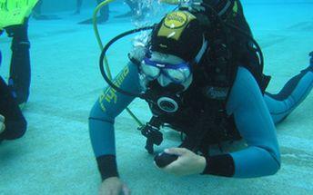 Jednodenní kurz potápění v bazénu POOL DIVER