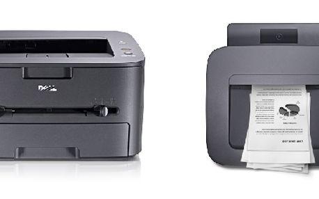 Lehká, stylová a rychlá laserová tiskárna Dell 1130 se skvělou kvalitu tisku !