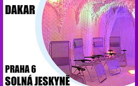 VSTUP DO SOLNÉ JESKYNĚ + 2 DĚTI DO 6 LET ZDARMA = 45 min. relaxační terapie! Solná jeskyně DAKAR, Praha, vybudovaná výhradně ze soli z Mrtvého moře! Relaxace a regenerace organismu! SLEVA 50%!