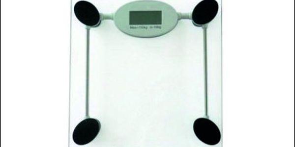 Skvělých 342 Kč za kvalitní skleněnou váhu s digitálním LCD displejem, která Vám spolehlivě ukáže Vaši momentální váhu!!