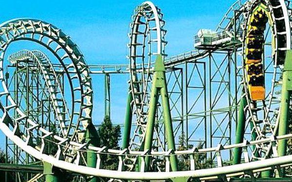 Zájezd do zábavního parku! Celodenní vstupenka do italského zábavního parku!