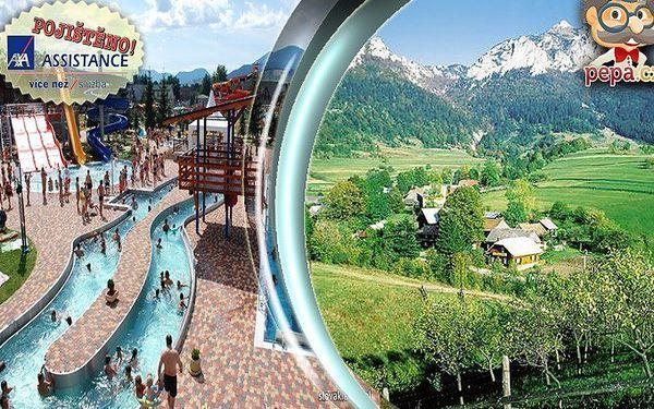 Pětidenní pobyt pro dva na Slovensku 10 minut od termálního koupaliště Bešeňová.