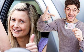 Naučte se řídit auto a získejte řidičák skupiny B