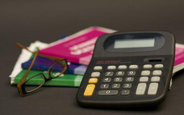 Daňová evidence (jednoduché účetnictví) 1+1 osoba zdarma