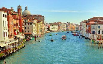 Užijte si Benátky a koupání v moři Zažijte romantický víkend v Benátkách spojený s koupáním v moři!