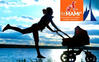 Outdoorové cvičení pro maminky s kočárky na liberecké přehradě