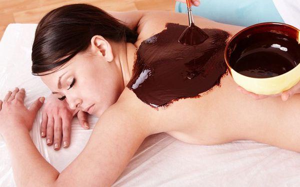 60minutová čokoládová masáž