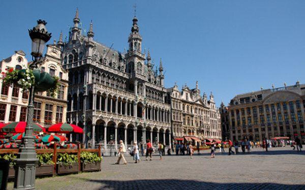 Belgie a Lucembursko na 4 dny za 2 780 Kč!