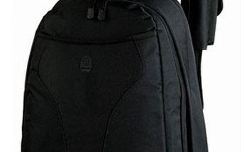 Prostorný ŠKOLNÍ BATOH s přihrádkou na notebook v univerzální černé barvě! Kvalitní polstrování, pohodlné nošení