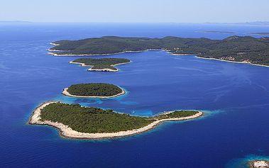10 dní v Chorvatsku u moře s dopravou pro 4 osoby na Makarské riviéře!