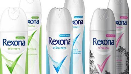 6dílná sada deodorantů Rexona! Příjemné svěží vůně pro spolehlivou ochranu proti pocení!