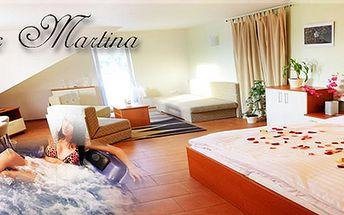 Pobyt pro dva na tři dny v krásném apartmánu s bohatou polopenzí!