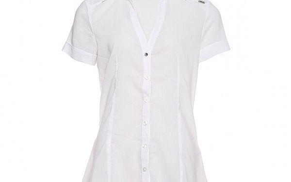 Dámská bílá strečová košile Miss Sixty