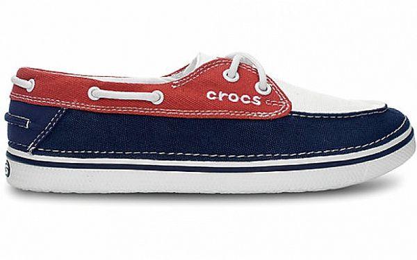 Dámské oranžovo-modré tenisky Crocs
