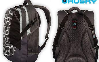 Školní batoh Husky! Reflexní prvky, obsha 23l a anatomický tvar, který dodá pohodlí vašim zádům!