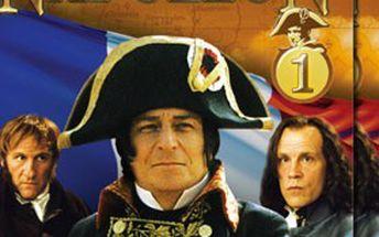 JEN 140 Kč za kolekci 4 DVD NAPOLEON! Fascinující příběh Napoleona Bonaparte – mistra války a strategie, muže, který psal DĚJINY celé Evropy