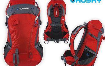HUSKY - ultralehký horolezecký batoh! Objem 30 litrů, pláštěnka, úchyty a vývod pro vodní vak a mnohem více.