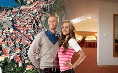 Pobyt pro dvě osoby na tři dny se snídaní ve stylovém hotelu Slávia!