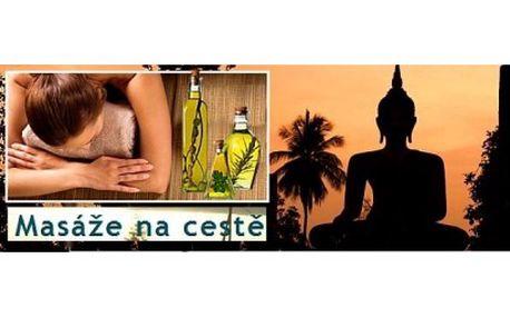 Dokonalá 90 min. relaxace! Na výběr ze 3 druhů masáží - Thajská masáž nohou, Thajská olejová masáž nebo Indick