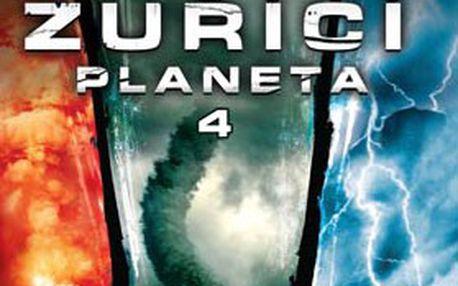 Úžasná kolekce 4 DVD ZUŘÍCÍ PLANETA – prozkoumejte TY nejděsivější PŘÍRODNÍ katastrofy naší planety