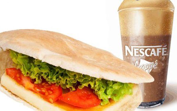 Řecké menu za 60 Kč! Vychutnejte si grilovaný sýr Sachanaki v pitě nebo gyros a frappé!