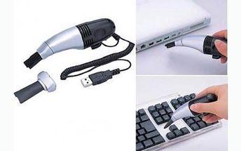 Úžasná cena!!! Jen 99 Kč za praktický USB vysavač na klávesnici!!! Udržujte svoji klávesnici v čistotě!
