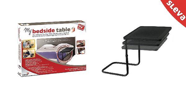Přizpůsobte si stolek k posteli dle potřeby. Stole...
