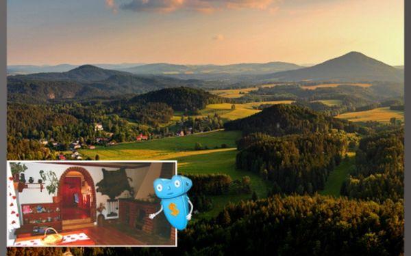 České Švýcarsko, sleva na pobyt v týdnu - 4 dny pro 2 osoby ve šluknovském výběžku. Romantický pobyt v nádherné přírodě v historické chalupě komfortně vybavené pro skvělé prožití Vašich dní.