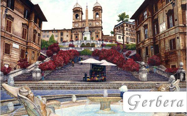 4 dny v Římě, městě lásky a vášně. Užijte si tu neopakovatelnou atmosféru!