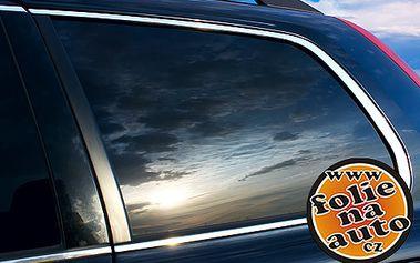 Tónování autoskel fóliemi SunTek na všechna skla vozu kromě čelního