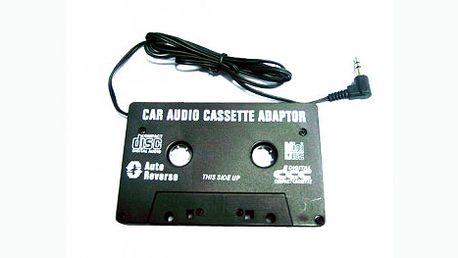 Také máte ve svém autě stále kazetový přehrávač a rádi by jste poslouchali skladby ze svého telefonu, iPodu nebo jiného zařízení? Nyní můžete mít tohoto skvělého pomocníka za 65 Kč!!