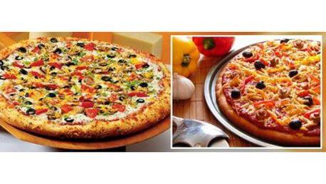 Dvě výborné pizzy se slevou 46%: Vyberte si dvojici lahodných a křehkých pizz dle vaší chuti za úžasnou cenu 129 K...