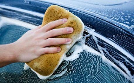 Kompletní ruční mytí aut! Připravte se na zimu!