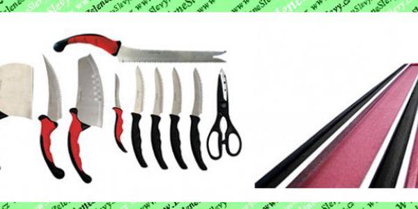 Báječná nabídka! Set 10 nožů Contour Pro Knives vč. POŠTOVNÉHO!A k tomu magnetická lišta v hodnotě 399kč úplně ZDARMA!