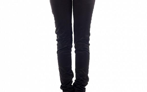 Dámské tmavě hnědé skinny džíny Freesoul