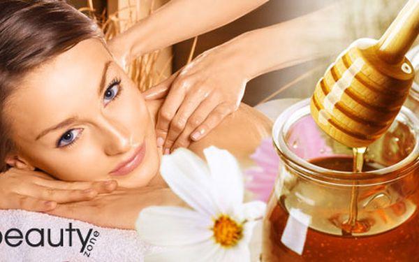 199 Kč za medovou masáž se zábalem. Dopřejte si blahodárné účinky včelího medu, který přináší tělu jedinečnou detoxikaci a relaxaci. 60 min. dokonalého hýčkání a sleva 50 %.
