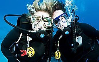 Potápění v přírodní nádrži u Krušných hor – do hloubky až 18 m, zážitek na cca 2 hodiny