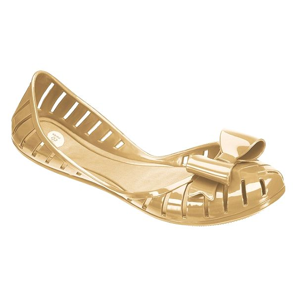 Dámské zlaté balerínky Mel
