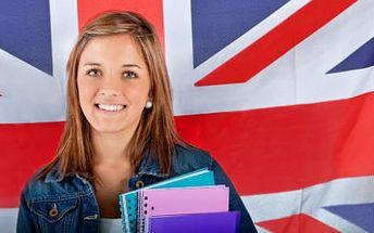 On-line lekce angličtiny! 6měsíční nebo 12měsíční lekce od rodilých mluvčích!