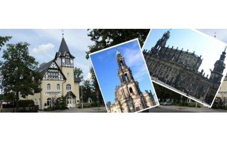 Užijte si ve dvou romantický výlet do nedalekých Drážďan se 43% slevou:Hotel pro 2 osoby včetně snídaně jen za 104...