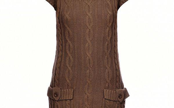 Dámská světle hnědá pletená vesta Pepe Jeans