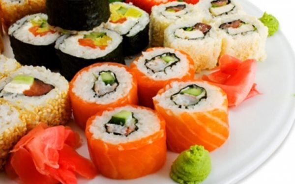 Bohatý výběr SUSHI v paláci Lucerna na Praze 1! Jídla lze vzít s sebou! Za 39 Kč získáte kupón na 60% slevu na SUSHI a SUSHI SETY a 50% slevu na všechna ostatní jídla v restauraci Xing Dong Hai!