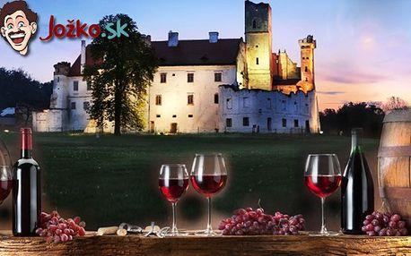pobyt (nielen) pre milovníkov vína na 3 dni pre 2