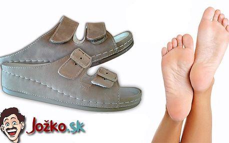 Pohodlné zdravotné papuče Koka