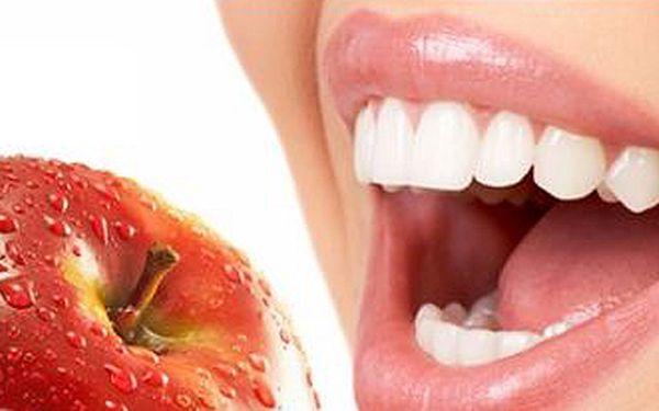 Dentální hygiena - odstranění zubního kamene a plaku, instruktáž, leštění zubů - zubní ordinace AMdent (u metra Anděl).